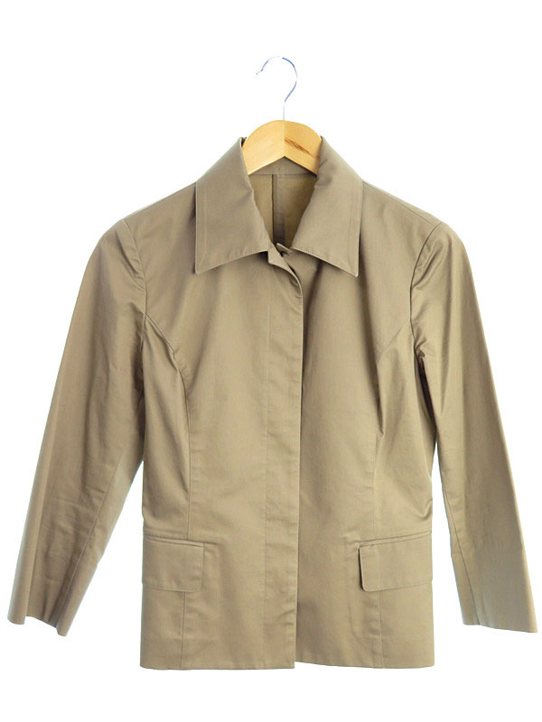 【OFUON】【アウター】オフオン『七分袖ジャケット size40』レディース 1週間保証【中古】