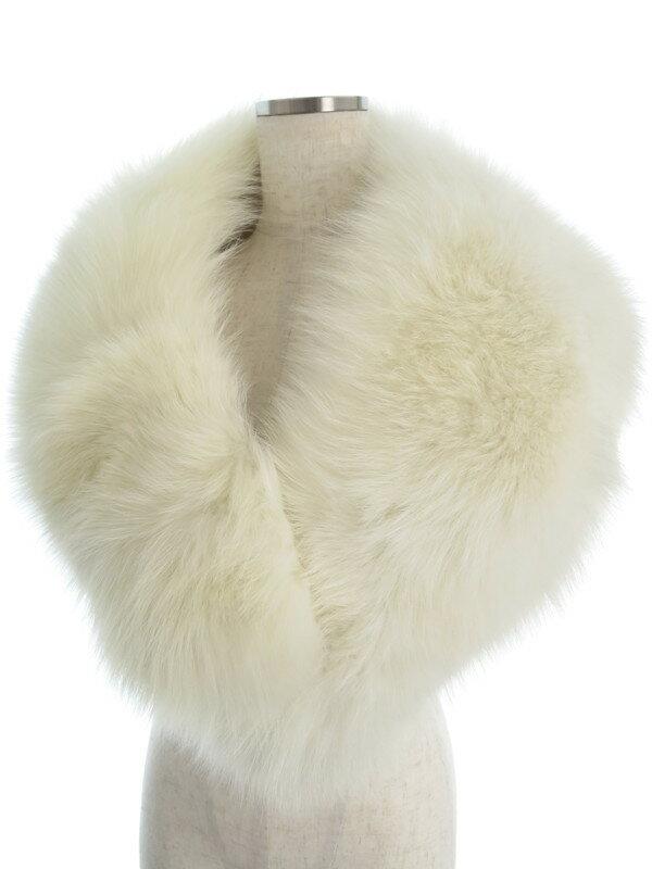 【SAGA FOX】サガフォックス『毛皮ショール』レディース ストール 1週間保証【中古】