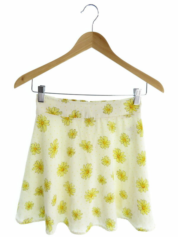 【INGNI】【ボトムス】イング『花柄スカート sizeM』レディース 1週間保証【中古】