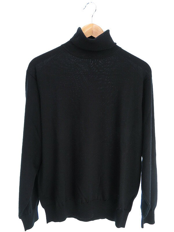 【BURBERRY LONDON】【トップス】バーバリーロンドン『長袖タートルニット sizeL』メンズ セーター 1週間保証【中古】