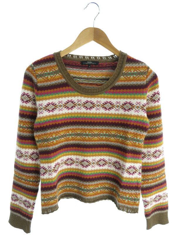 【WEEKEND MaxMara】【トップス】マックスマーラ『長袖ニット sizeS』レディース セーター 1週間保証【中古】