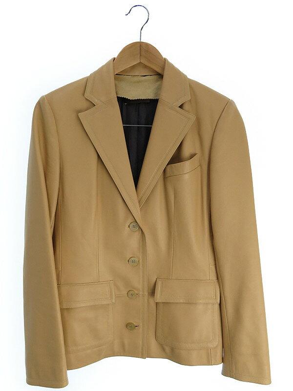 【LOEWE】【アウター】ロエベ『レザージャケット size38』レディース 1週間保証【中古】
