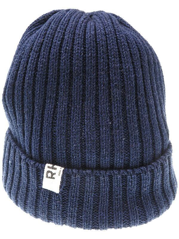 【RHC Ron Herman】【ニット帽】アールエイチシーロンハーマン『コットンニット帽』ユニセックス 帽子 1週間保証【中古】