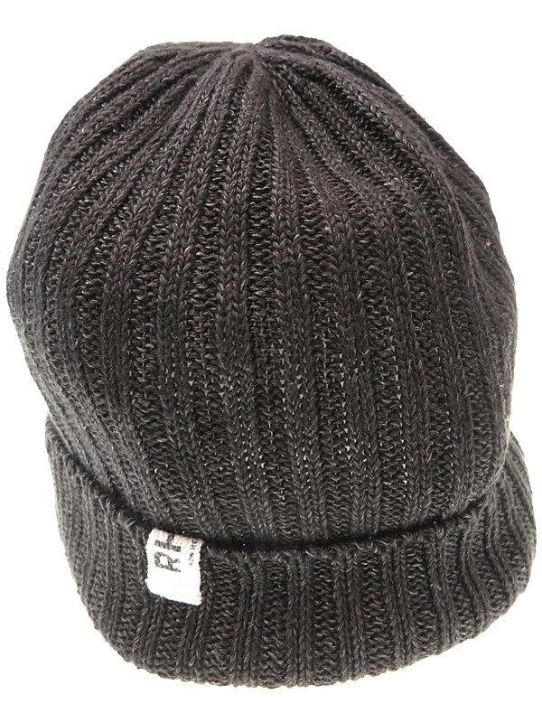 【RHC Ron Herman】【ニット帽】アールエイチシーロンハーマン『麻ニット帽』ユニセックス 帽子 1週間保証【中古】