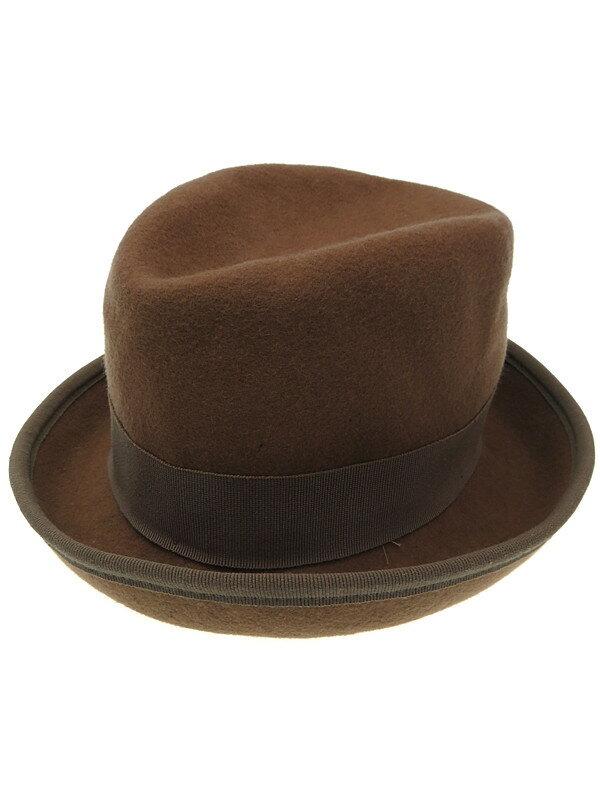 【HATS&DREAMS】ハッツ&ドリームス『中折れ帽』レディース 帽子 1週間保証【中古】