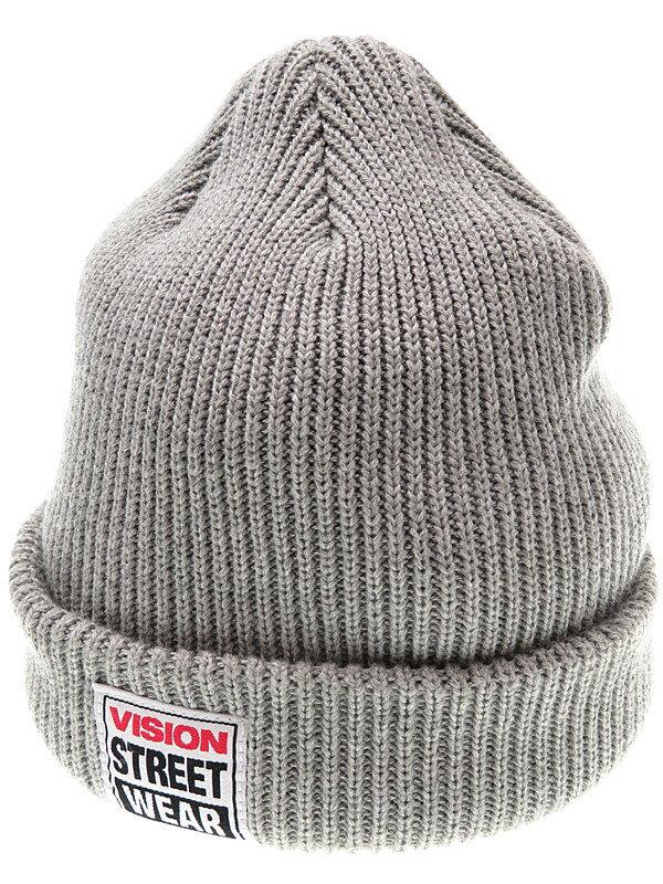 【VISION STREET WEAR】ヴィジョンストリートウェア『ニット帽 size FREE』ユニセックス 帽子 1週間保証【中古】