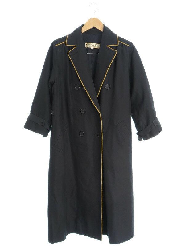 【Christian Dior】【アウター】クリスチャンディオール『七分袖トレンチコート size7』レディース 1週間保証【中古】