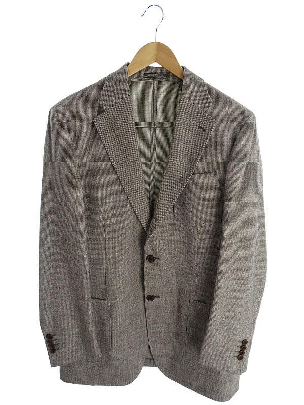 【Salvatore Ferragamo】【アウター】フェラガモ『テーラードジャケット size52』メンズ ブレザー 1週間保証【中古】