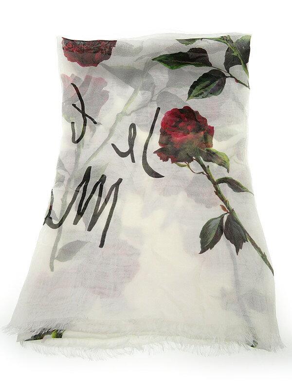 【Dolce&Gabbana】【ドルガバ】ドルチェ&ガッバーナ『シルクストール』レディース 1週間保証【中古】