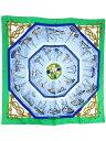 【HERMES】エルメス『カレ90 漁船の帰港』ユニセックス スカーフ 1週間保証【中古】b02f/h03B