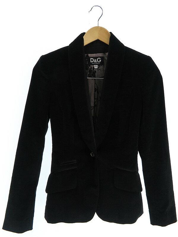 【Dolce&Gabbana】【ドルガバ】【上下セット】ドルチェ&ガッバーナ『コーデュロイパンツスーツ size22/36』レディース 1週間保証【中古】