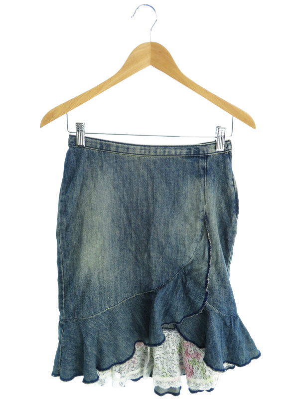 【GUESS】【ボトムス】ゲス『デニムスカート size26』レディース 1週間保証【中古】
