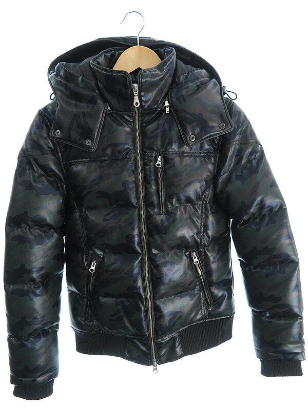 【STOOGe】【アウター】ストゥージ『迷彩柄中綿ジャケット sizeXS』メンズ 1週間保証【中古】