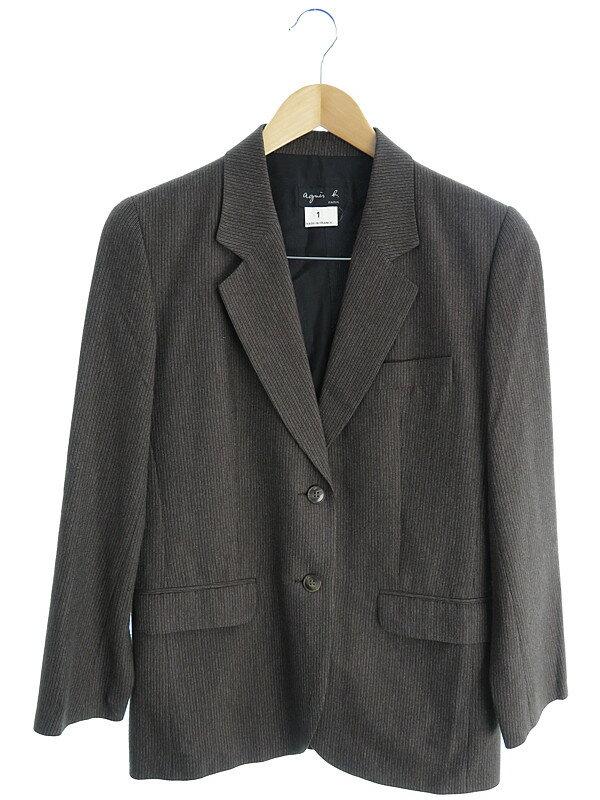 【agnes b.】【上下セット】アニエスベー『スカートスーツ size1』レディース セットアップ 1週間保証【中古】