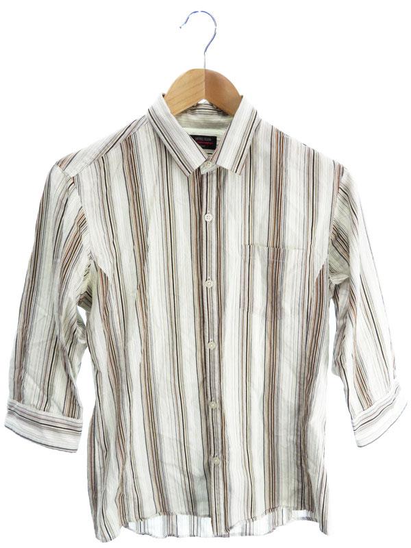 【MK MICHEL KLEIN homme】【トップス】エムケーミッシェルクラン『五分袖シャツ size46』メンズ 1週間保証【中古】