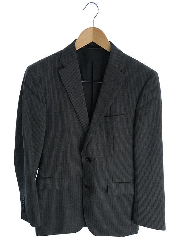 【BURBERRY BLACK LABEL】【上下セット】【2ピース】バーバリーブラックレーベル『セットアップスーツ size38R』メンズ 1週間保証【中古】