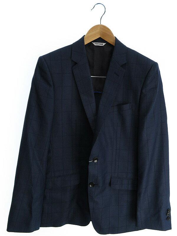【renoma】レノマ『スーツ上下セット size92Y5』メンズ セットアップ 1週間保証【中古】