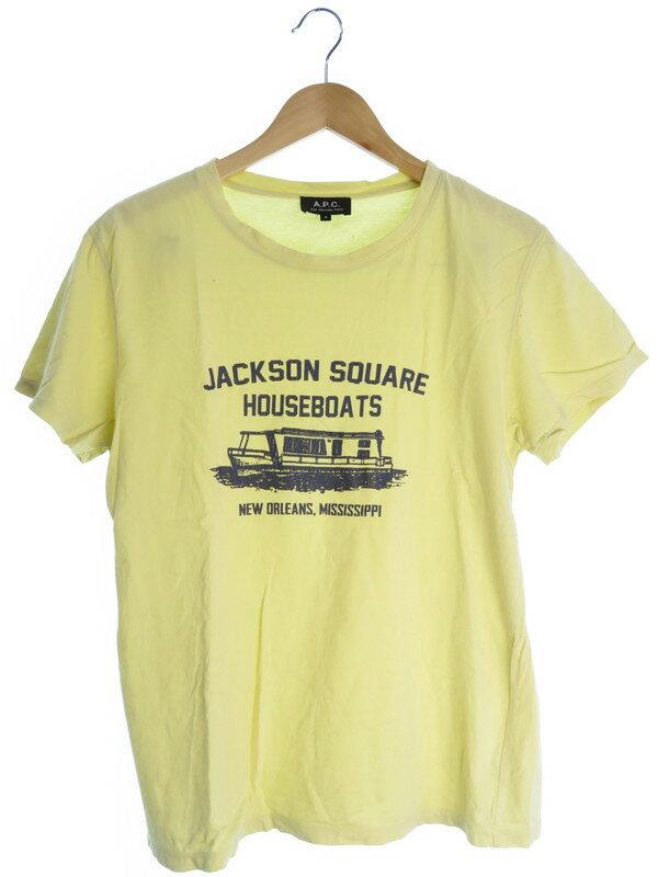 【A.P.C】【トップス】アーペーセー『半袖Tシャツ sizeS』メンズ 1週間保証【中古】