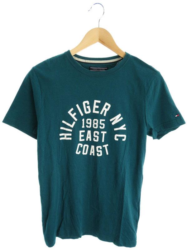 【TOMMY HILFIGER】【トップス】トミーヒルフィガー『半袖Tシャツ sizeS』メンズ 1週間保証【中古】