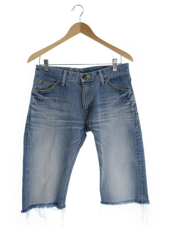【LEVIS】【ボトムス】【ジーパン】リーバイス『ハーフジーンズ size31』メンズ デニムパンツ 1週間保証【中古】