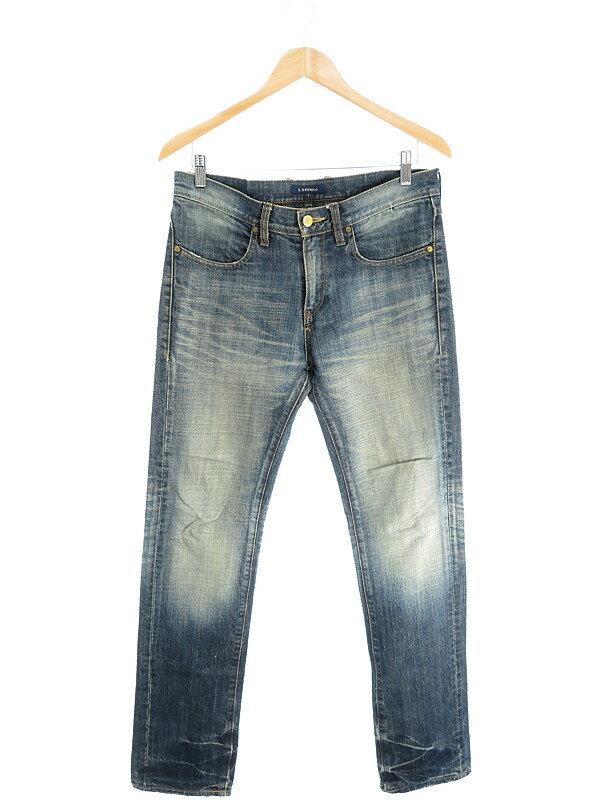 【R.NEWBOLD】【ボトムス】アールニューボールド『ジーンズ sizeL』メンズ デニムパンツ 1週間保証【中古】