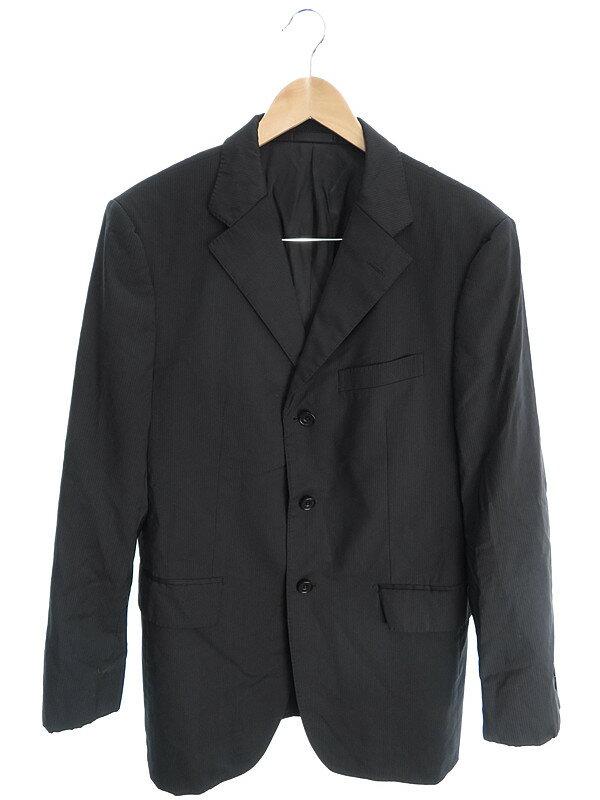 【BURBERRY BLACK LABEL】【上下セット】バーバリーブラックレーベル『2ピーススーツ size38L』メンズ セットアップ 1週間保証【中古】
