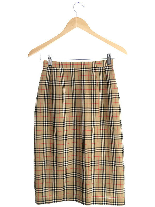 【BURBERRY'S】【ボトムス】バーバリーズ『チェック柄スカート size9』レディース 1週間保証【中古】
