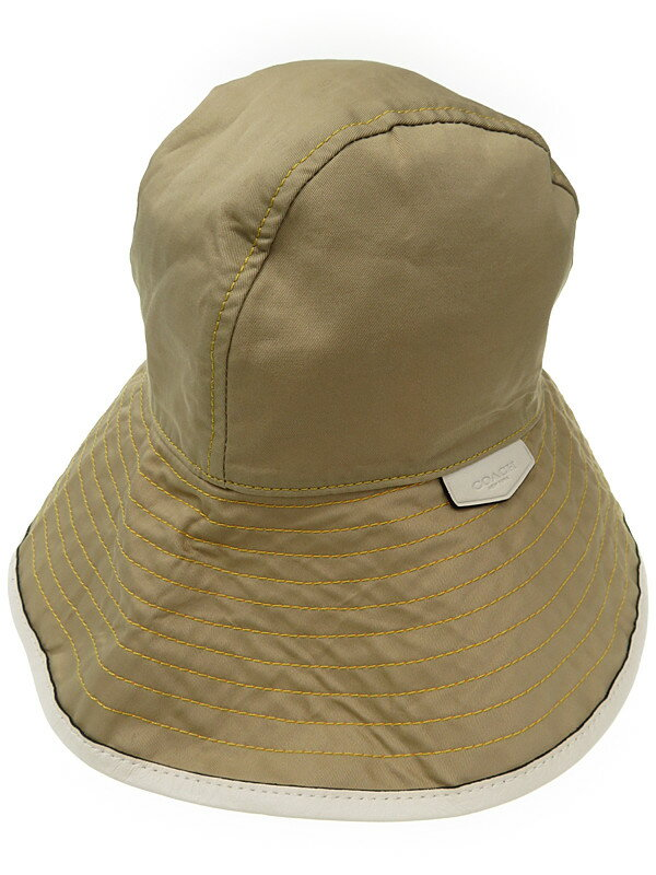 【COACH】コーチ『ハット size M/L』レディース 帽子 1週間保証【中古】