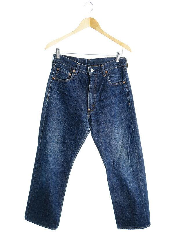 【LEVIS】【ジーパン】【ボトムス】リーバイス『502ジーンズ sizeW31 L36』メンズ デニムパンツ 1週間保証【中古】