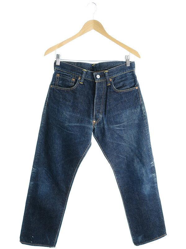 【EVISU】【ジーパン】【ボトムス】エヴィス『ジーンズ size30×35』メンズ デニムパンツ 1週間保証【中古】