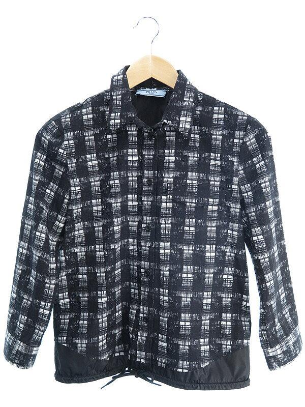【PRADA】【トップス】プラダ『ボタンシャツ size40』レディース 1週間保証【中古】