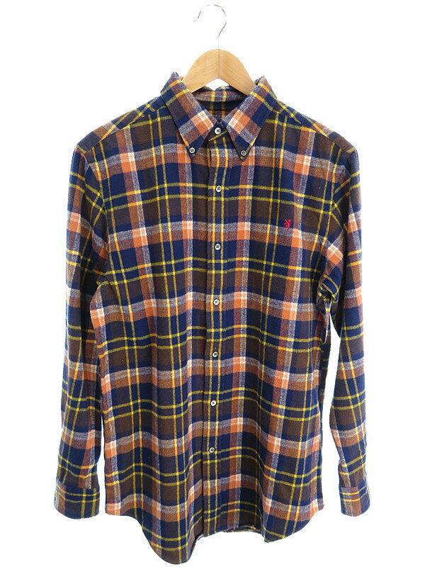 【Gymphlex】【トップス】ジムフレックス『チェック柄ボタンダウンシャツ sizeXL』メンズ 1週間保証【中古】