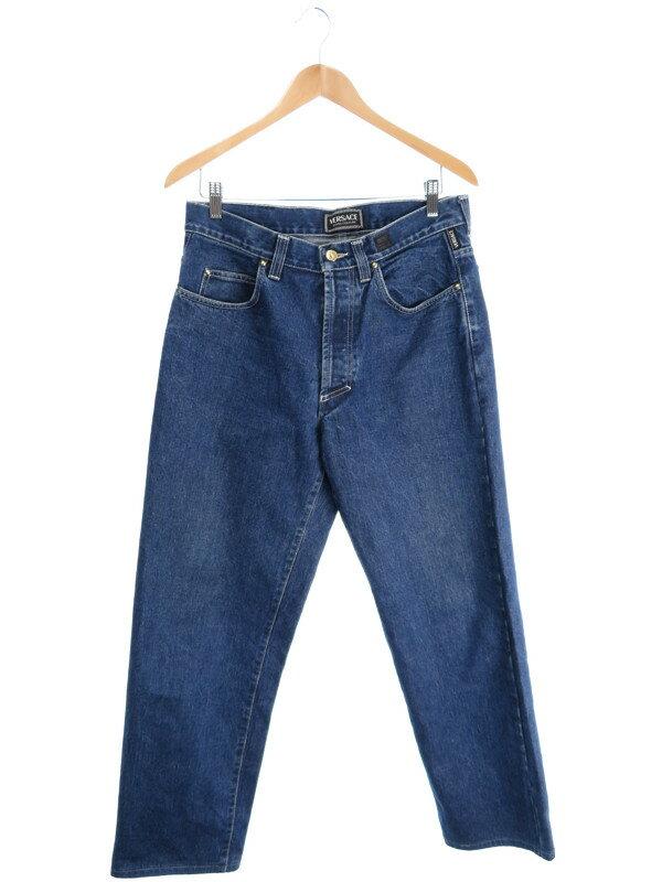 【VERSACE JEANS COUTURE】【ボトムス】【ジーパン】ヴェルサーチジーンズクチュール『ジーンズ size35』メンズ デニムパンツ 1週間保証【中古】