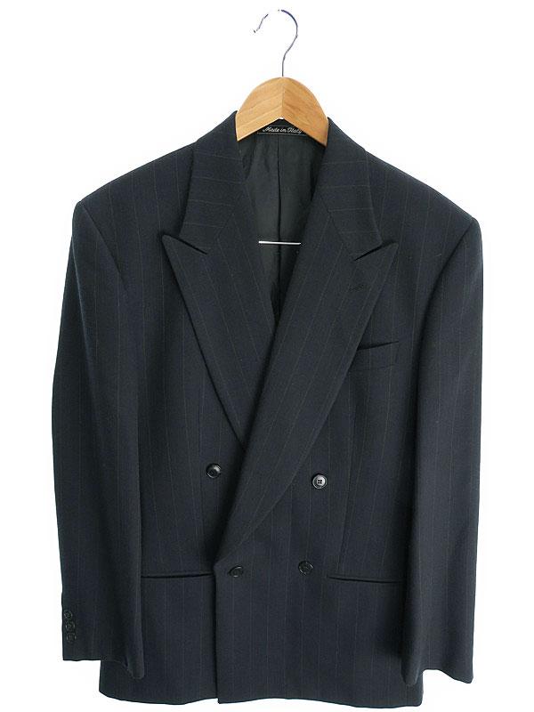 【GIORGIO ARMANI】【上下セット】【2ピース】ジョルジオアルマーニ『セットアップスーツ size46REG』メンズ 1週間保証【中古】