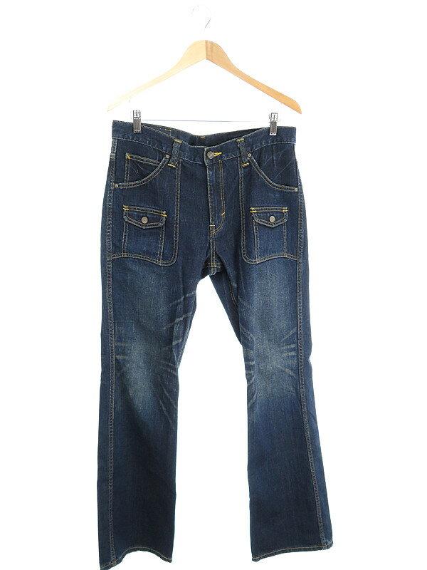 【Lee】【ボトムス】【ジーパン】リー『ジーンズ sizeL』メンズ デニムパンツ 1週間保証【中古】