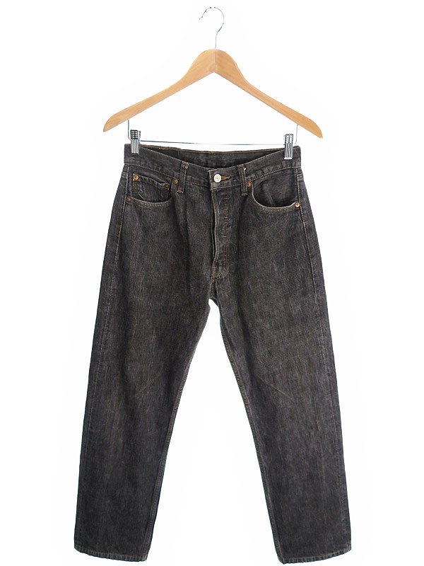 【LEVIS】【ボトムス】【ジーパン】リーバイス『ジーンズ sizeW30 L34』501 メンズ デニムパンツ 1週間保証【中古】