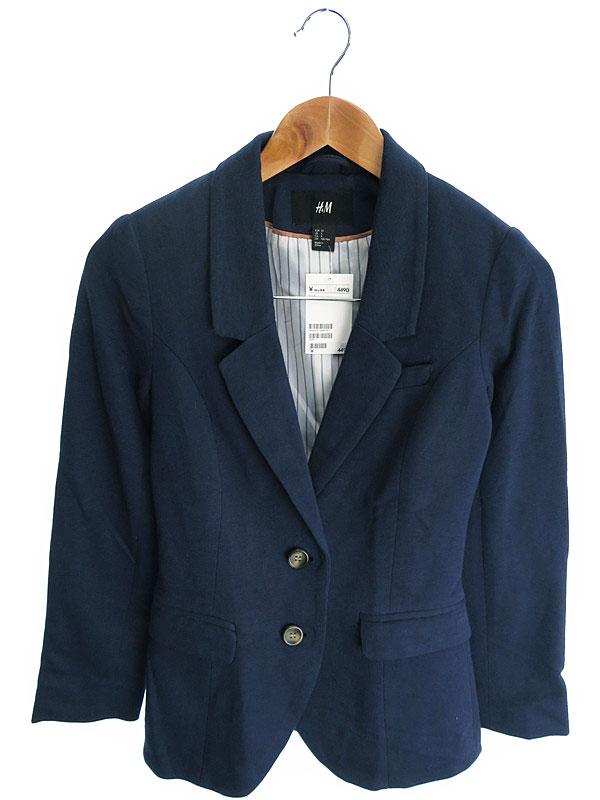 【H&M】【アウター】エイチ&エム『テーラードジャケット size32』レディース 1週間保証【中古】