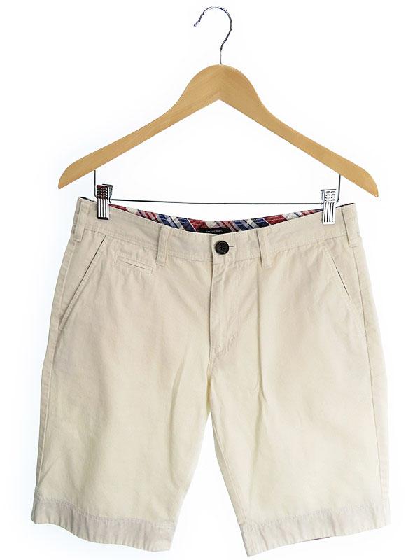 【BURBERRY BLACK LABEL】【ボトムス】バーバリーブラックレーベル『ハーフパンツ size76』メンズ 半ズボン 1週間保証【中古】