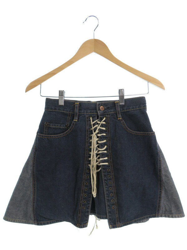 【HYSTERIC GLAMOUR】【KINKY JEANS】【ボトムス】ヒステリックグラマー『デニムスカート sizeFREE』レディース 1週間保証【中古】