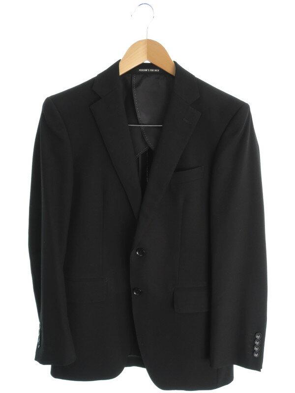 【PERSON'S FOR MEN】パーソンズフォーメン『スーツ上下セット size90YA5』メンズ セットアップ 1週間保証【中古】