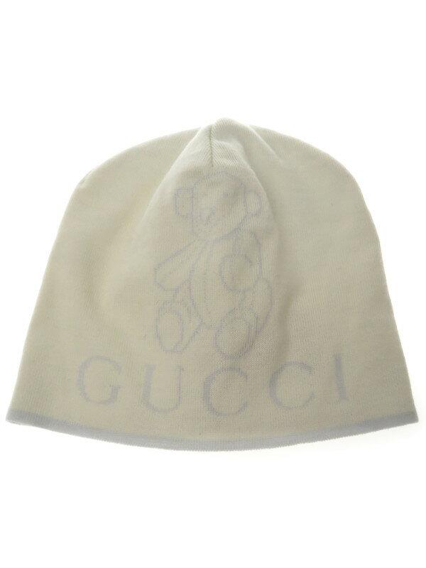 【GUCCI】【ベビー】グッチ『ベビーニット帽 sizeM』ユニセックス 帽子 1週間保証【中古】