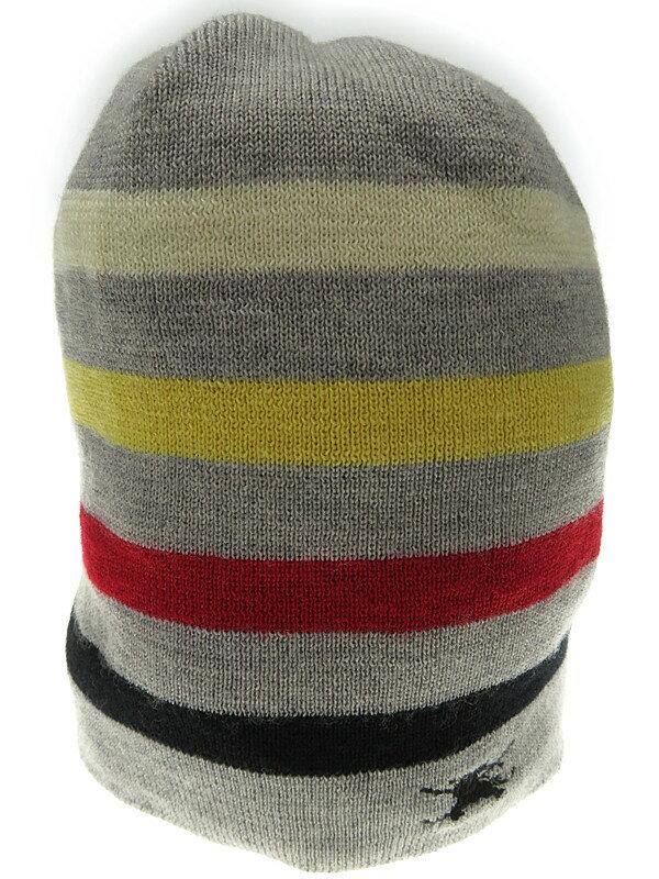 【BURBERRY GOLF】バーバリーゴルフ『ニット帽』ユニセックス 帽子 1週間保証【中古】