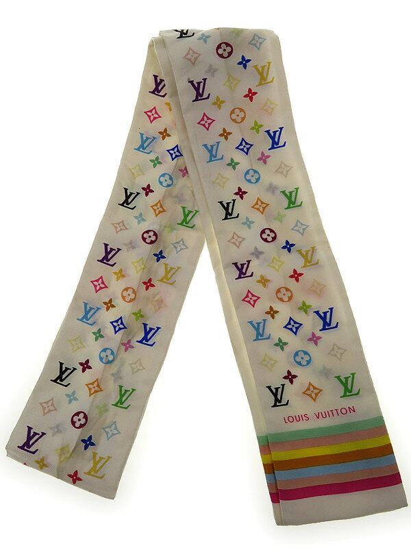 【LOUIS VUITTON】ルイヴィトン『バンドー マルチカラー』レディース スカーフ 1週間保証【中古】