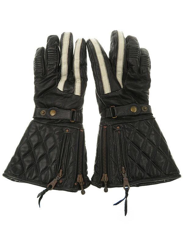 【Schott】ショット『レザーグローブ』メンズ 手袋 1週間保証【中古】