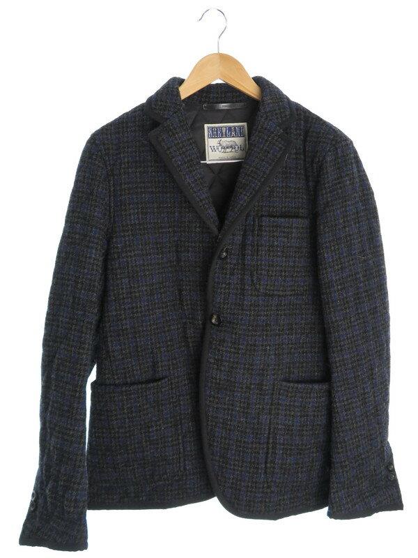 【TOMORROW LAND】【アウター】トゥモローランド『ウールジャケット sizeL』メンズ コート 1週間保証【中古】