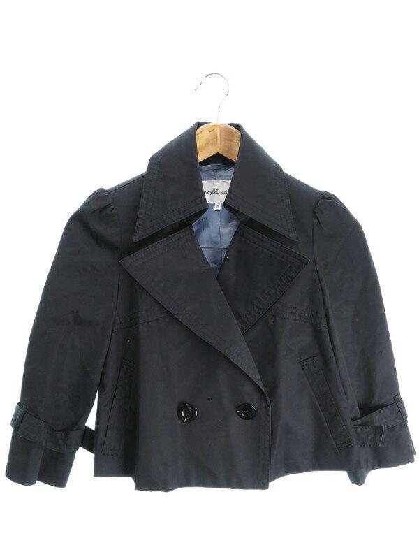 【Pinky&Dianne】【アウター】ピンキー&ダイアン『七分袖ジャケット size36』レディース 1週間保証【中古】
