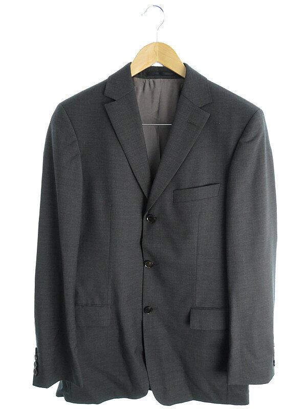【HUGO BOSS】【2ピース】ヒューゴボス『スーツ上下 size090』メンズ セットアップ 1週間保証【中古】
