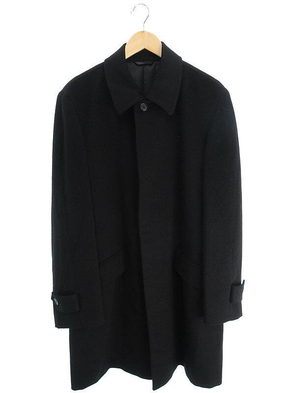 【FUKAKI】【アウター】深喜織物『カシミヤコート sizeL』メンズ 1週間保証【中古】