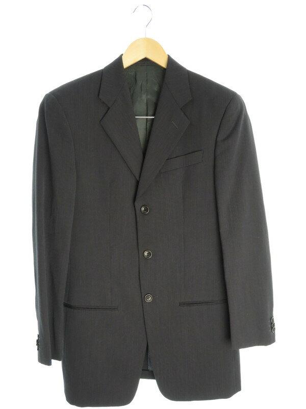 【ARMANI COLLEZIONI】【2ピース】アルマーニコレッツォーニ『スーツ上下セット size44/R』メンズ セットアップ 1週間保証【中古】