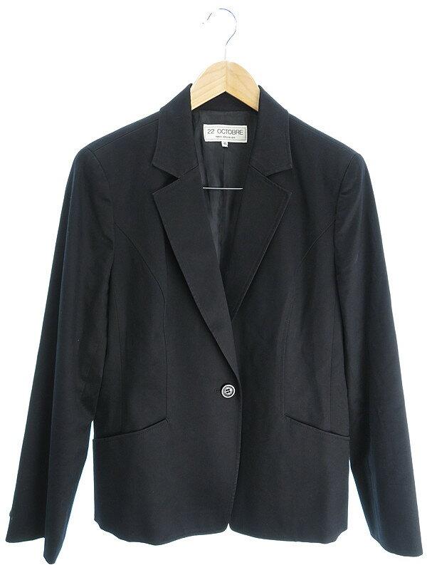 【22 OCTOBRE】【アウター】ヴァンドゥーオクトーブル『テーラードジャケット size46』レディース ブレザー 1週間保証【中古】